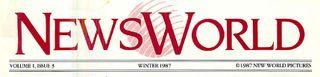 NewsWorld Masthead